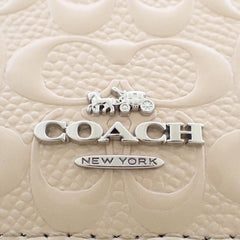 Coach Boxed ID Lanyard Set In Signature Leather