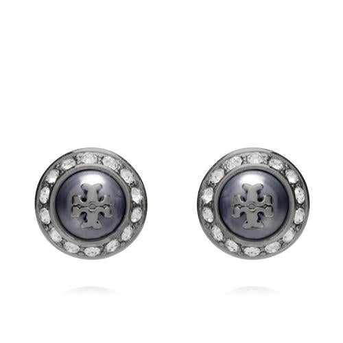 Tory Burch 'Natalie' Faux Pearl Stud Earrings