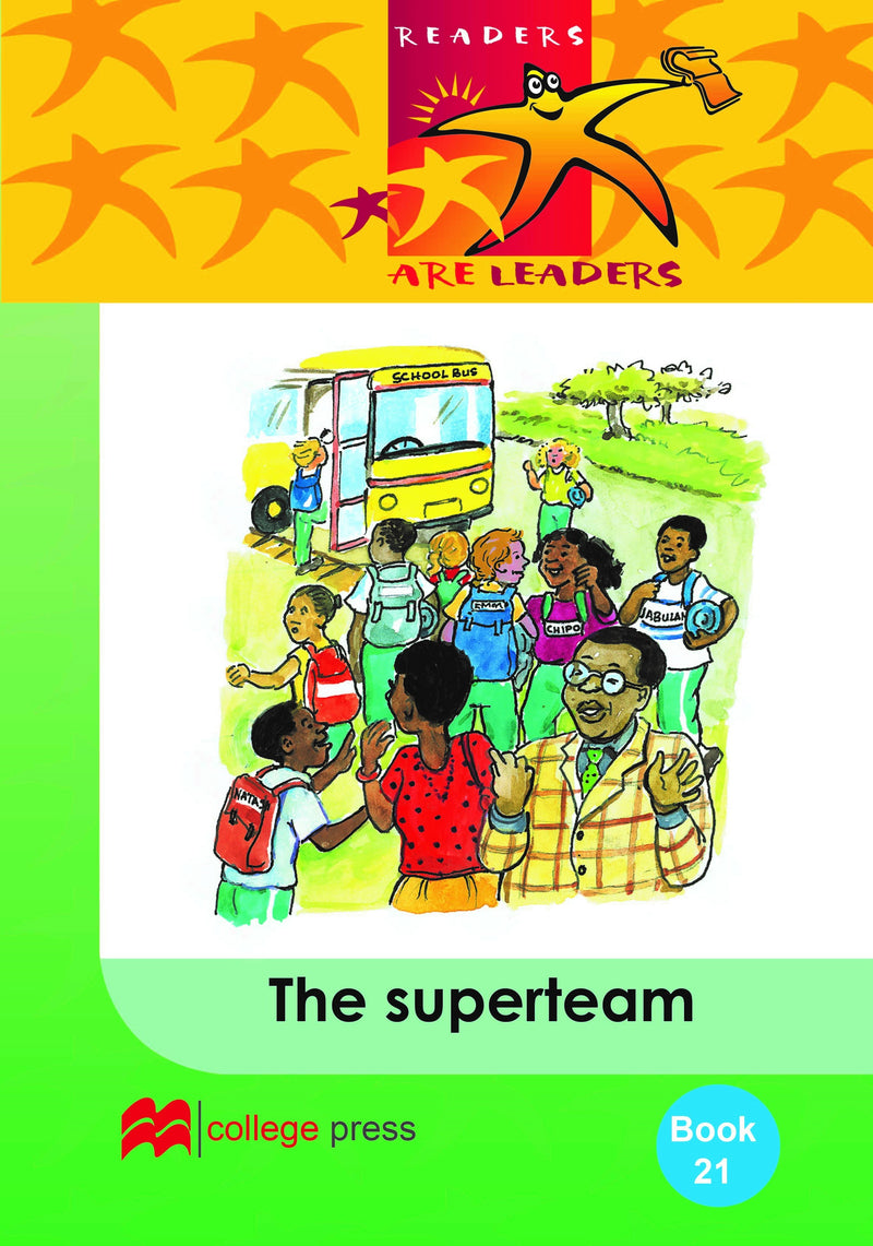 Readers are leaders Book 21- The superteam