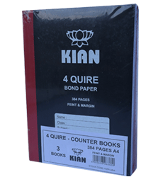 A4 counter BKSP96 Hardcover