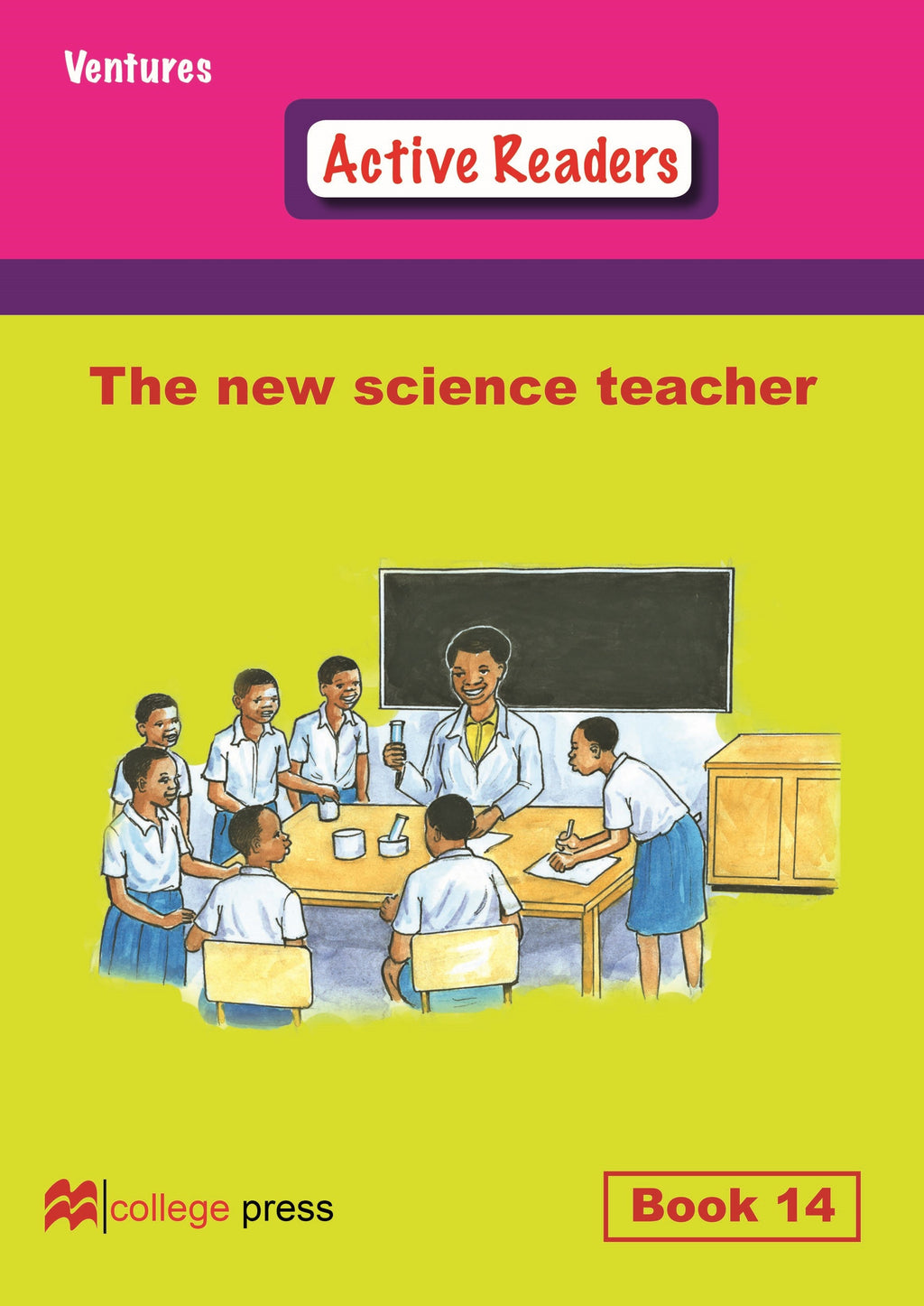 Ventures active readers (Controlled English Reading Scheme) The new science teacher Book14