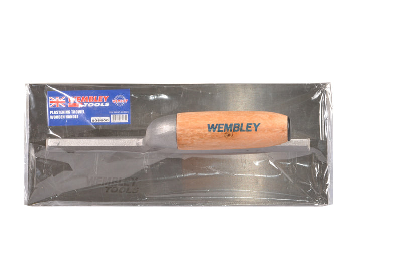 Trowel plastering wooden handle