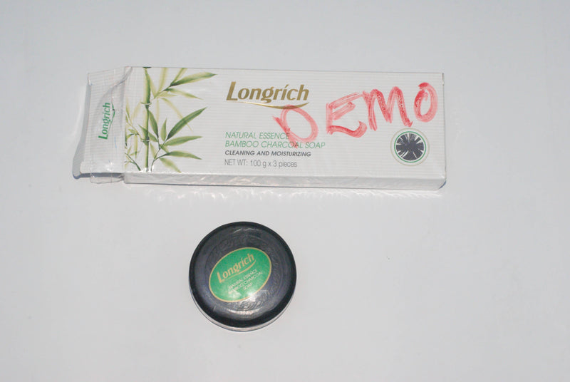 Longrich Bamboo Charcoal Soap