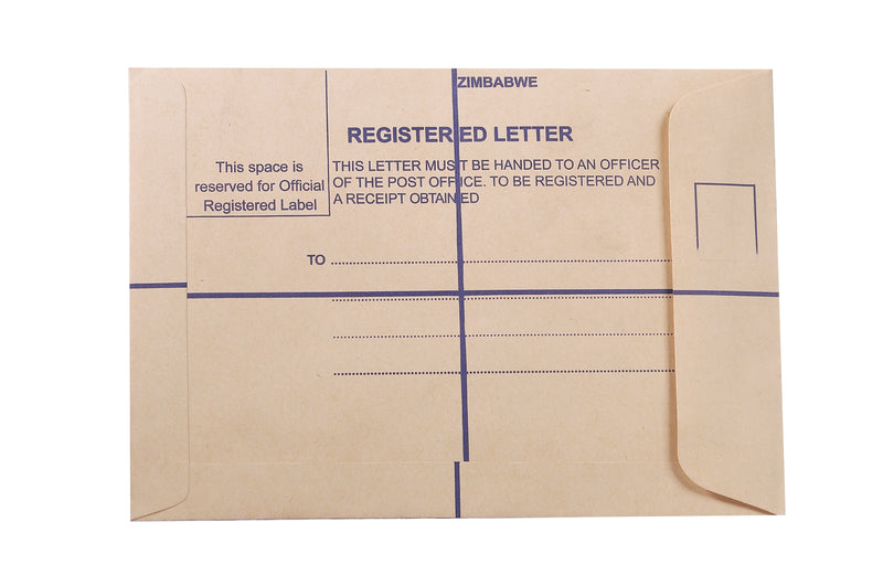 Registered Envelopes