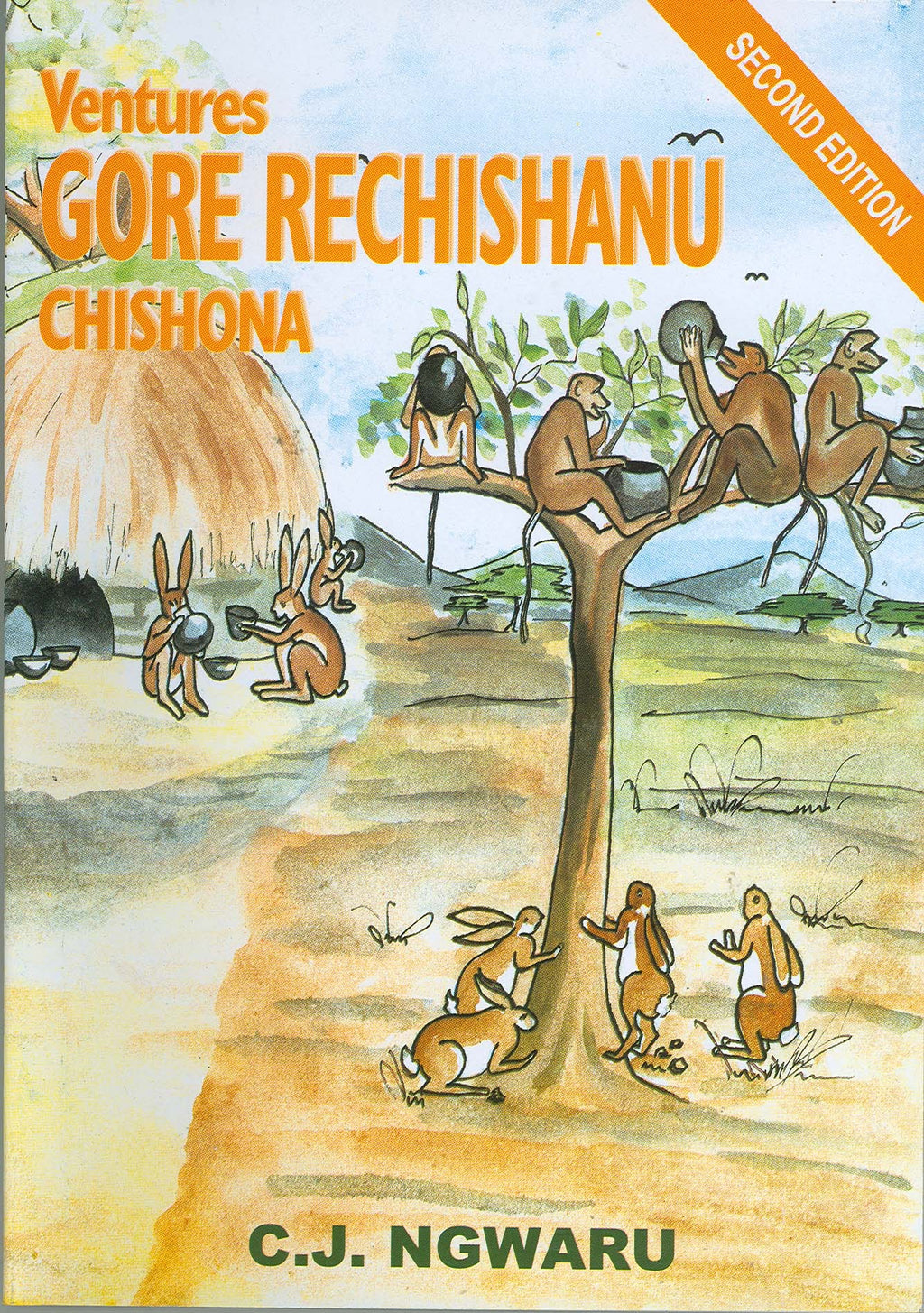 Ventures Gore ReChishanu-2nd Edition Pupil's Book