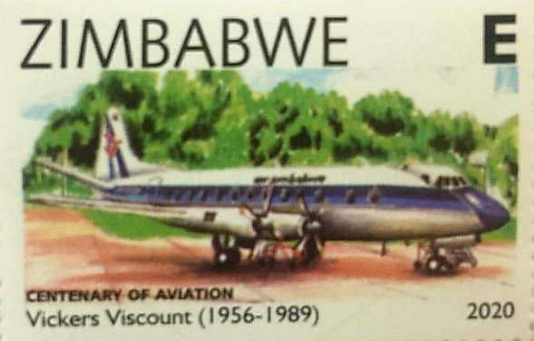 VICKERS VISCOUNT (1956-1989) CENTENARY OF AVIATION