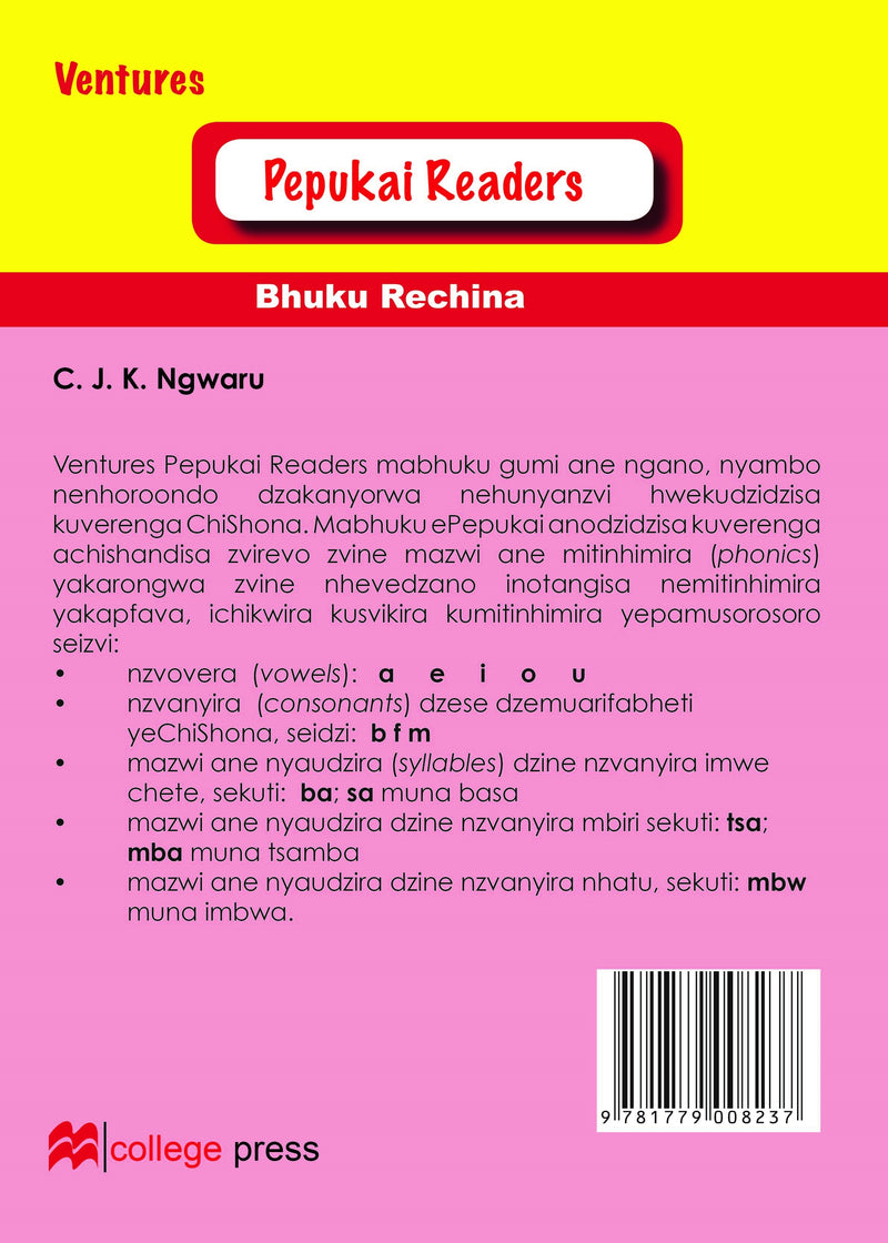 Pepukai Readers Book 4 - Tapera naMapope
