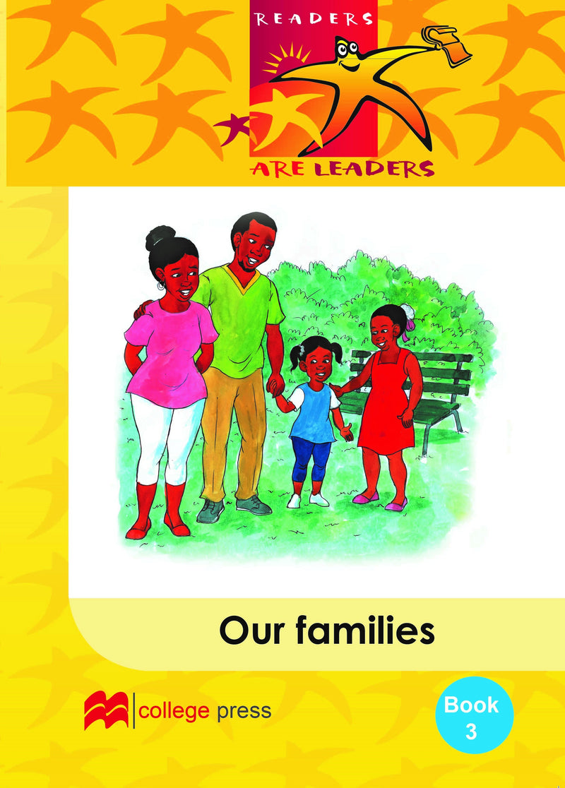Readers are leaders Book 3 - Our families