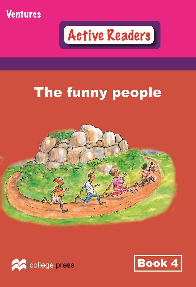 Ventures active readers (Controlled English Reading Scheme) The Funny People Book 4