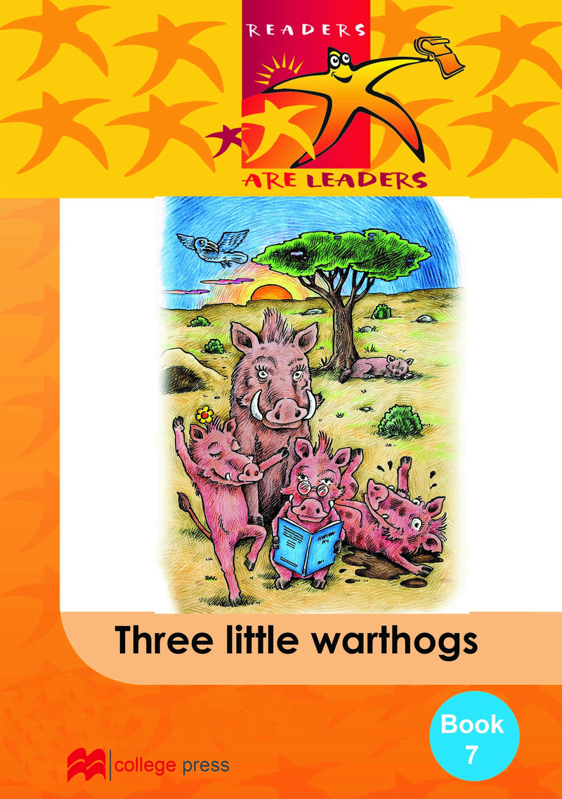 Readers are leaders Book 7- Three Little Warthogs