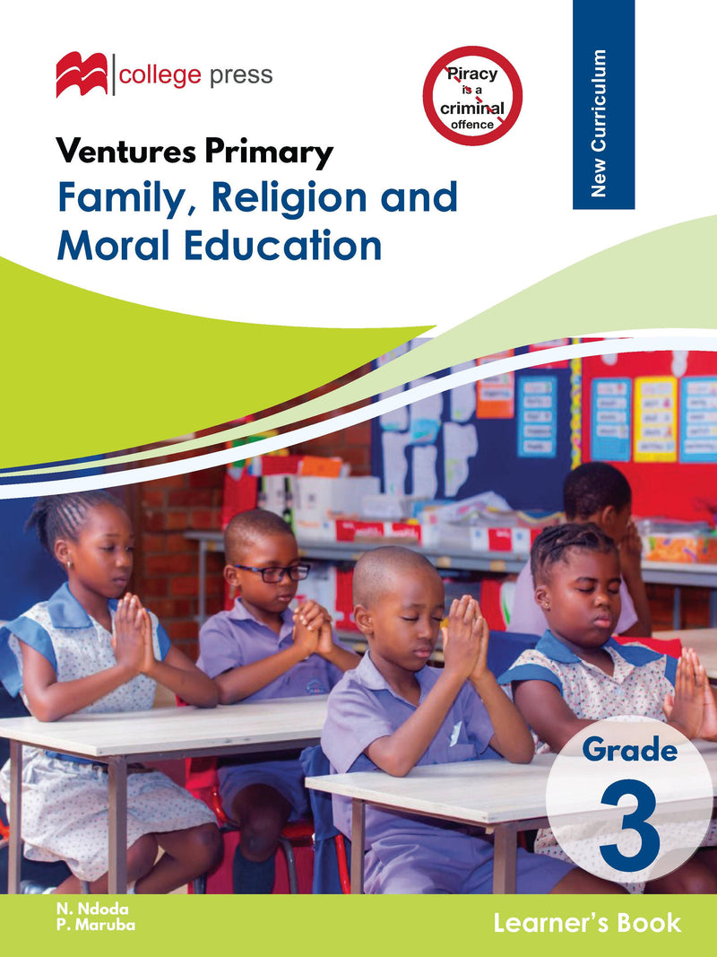 Ventures Primary Family, Religion and Moral Studies Grade 3 Learner's Book