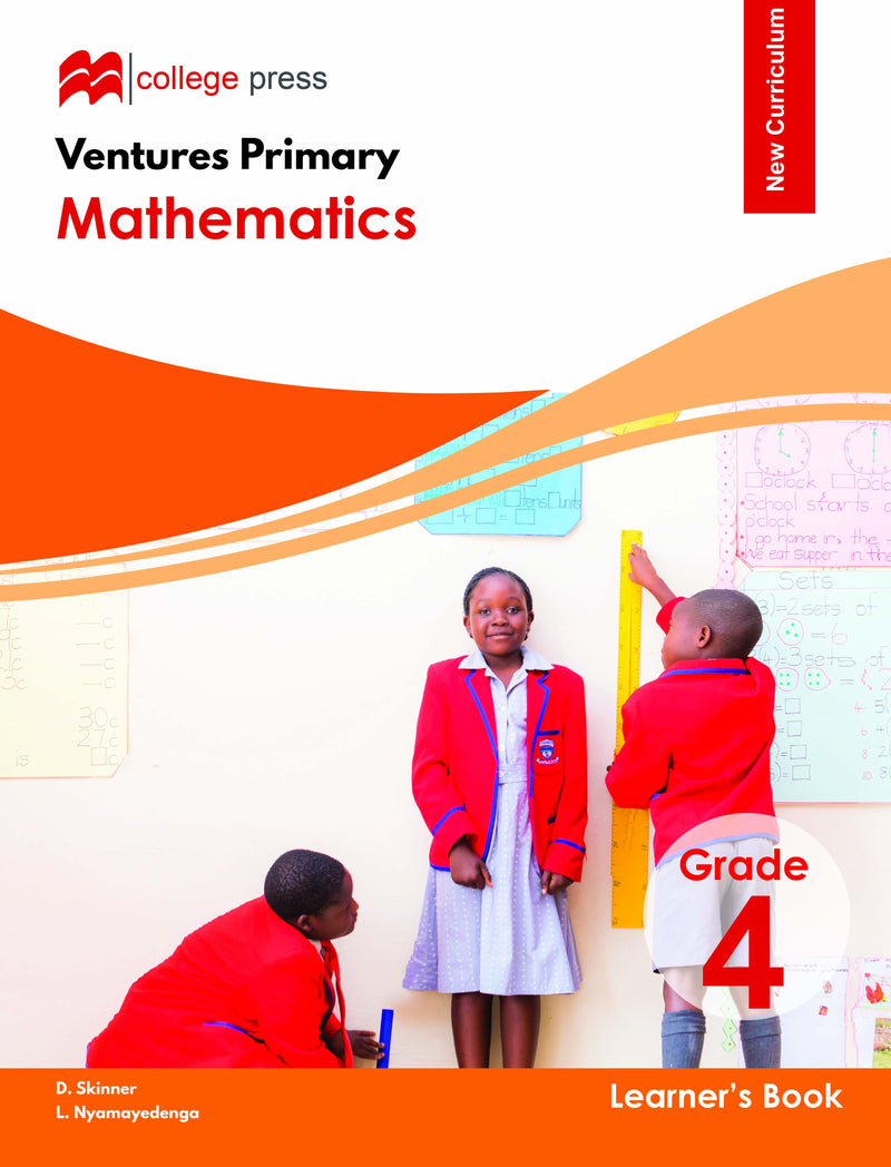 Ventures Primary Mathematics Learner's Grade 4 Book