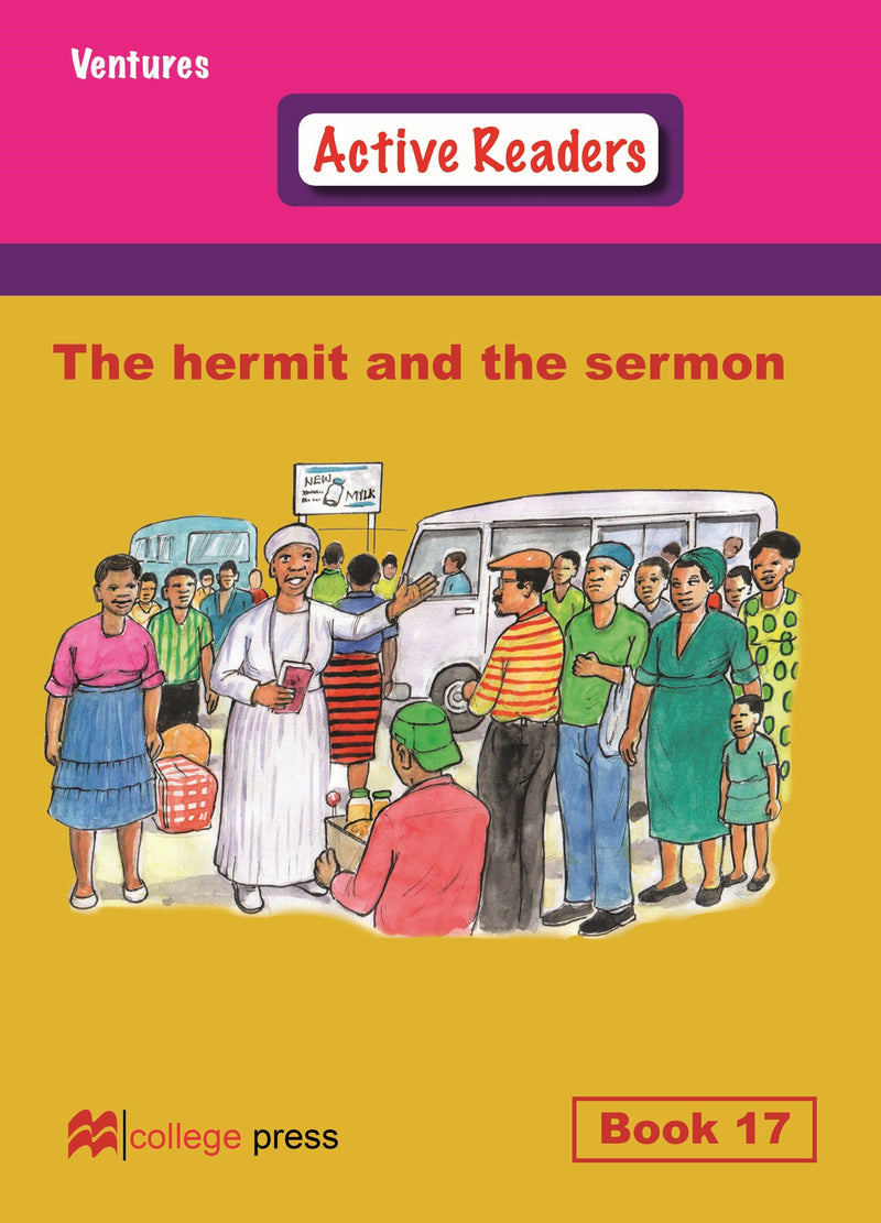 Ventures active readers (Controlled English Reading Scheme) The hermit and the sermon  Book 17