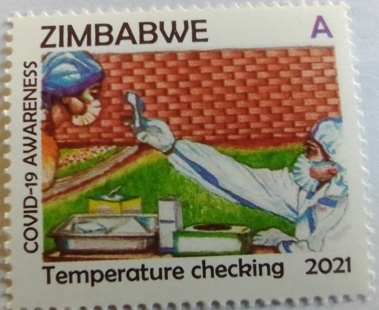2021 A COVID-19 AWARENESS STAMP