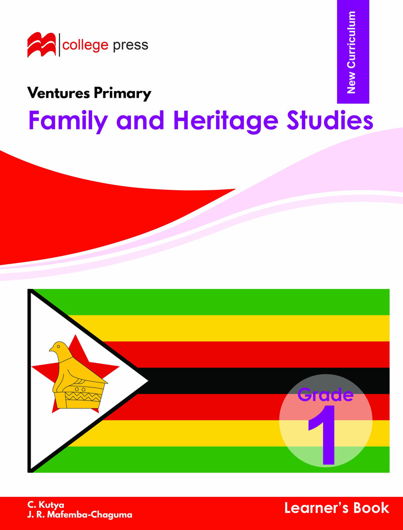 Ventures Primary Family and Heritage Studies Learner's Book Grade 1