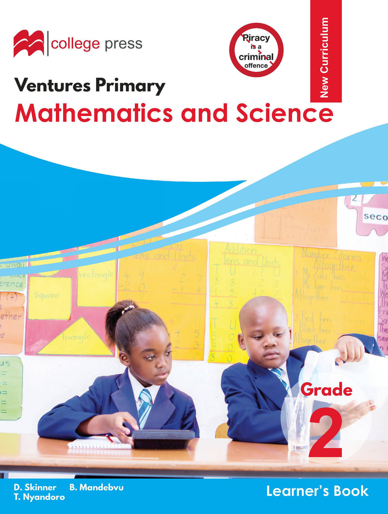 Ventures Primary Maths and Science Grade 2 Learner's Book