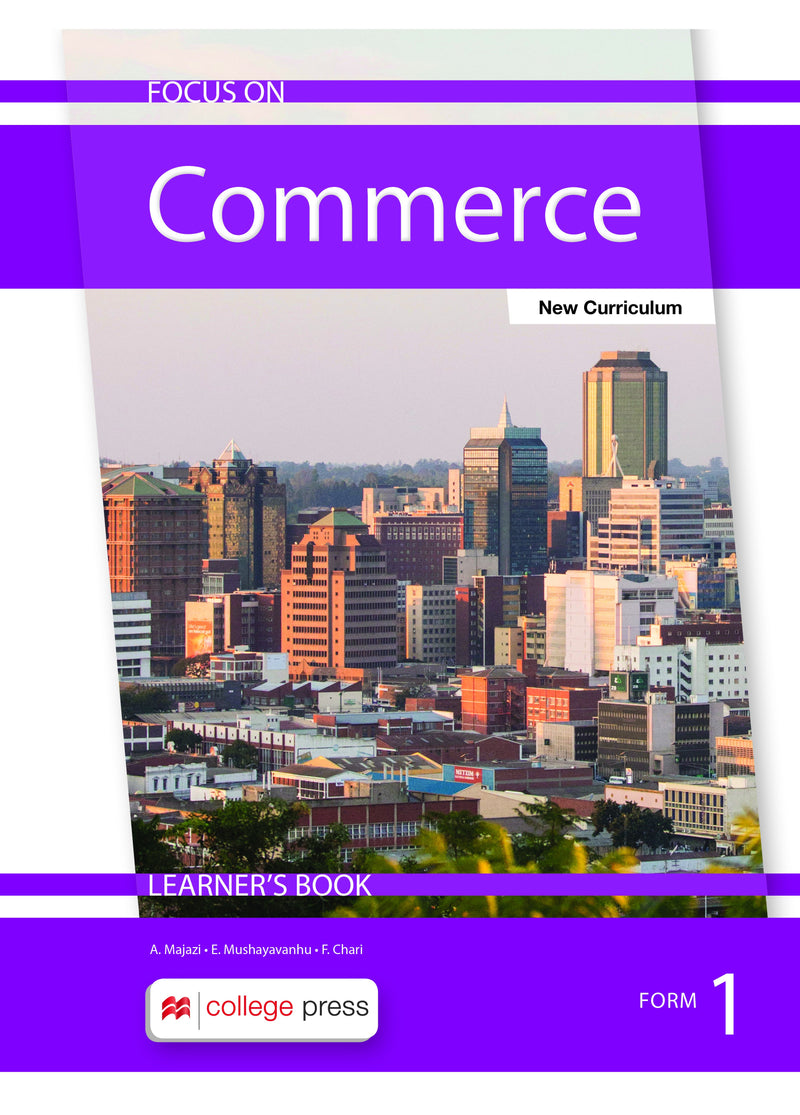Focus on Commerce Learner's Book FORM1