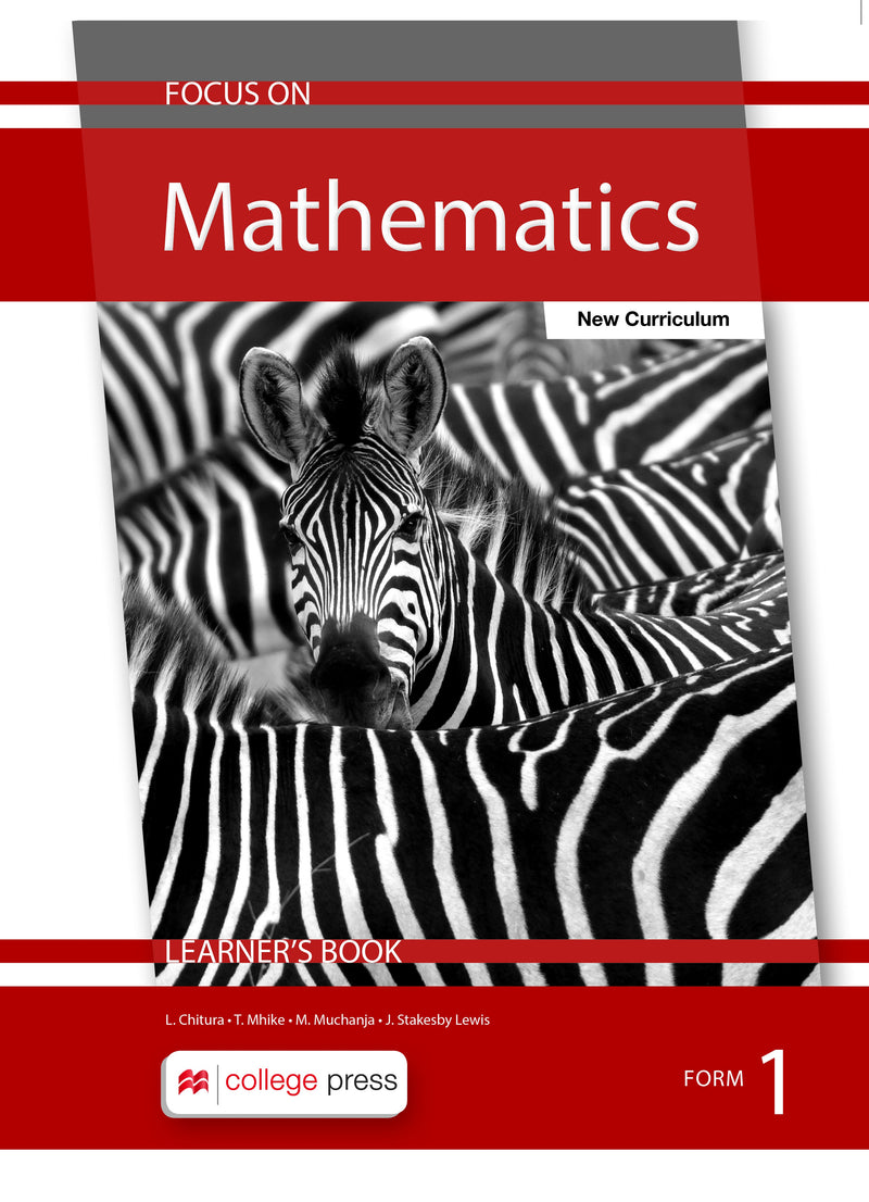 Focus on Mathematics Learner's Book Form1
