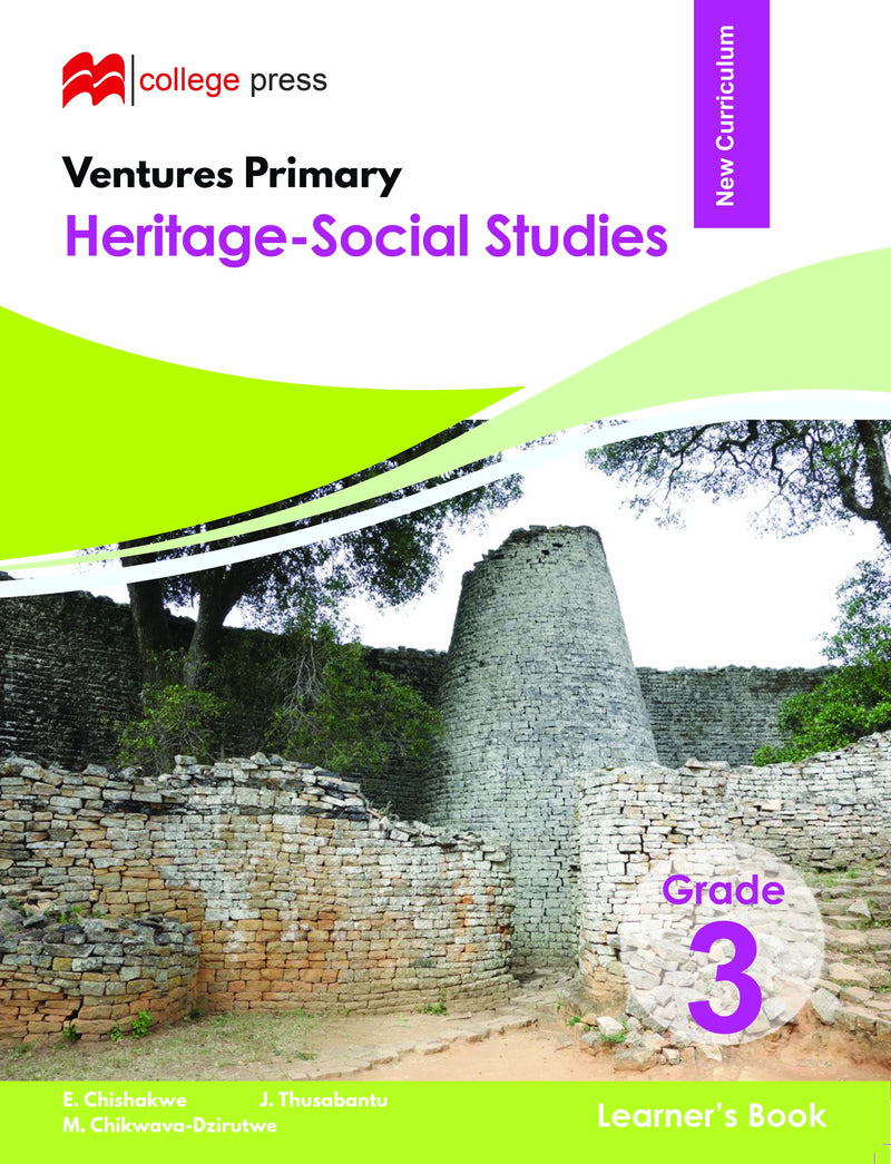 Ventures Primary Heritage Studies Learner's  Grade 3 Book
