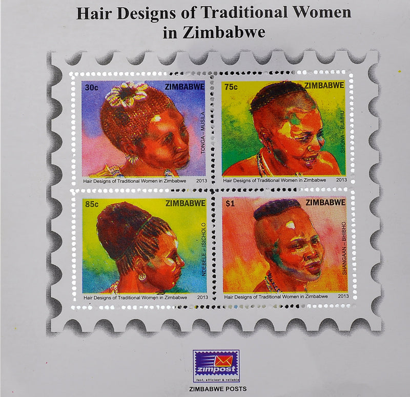 Hair designs of women minisheets