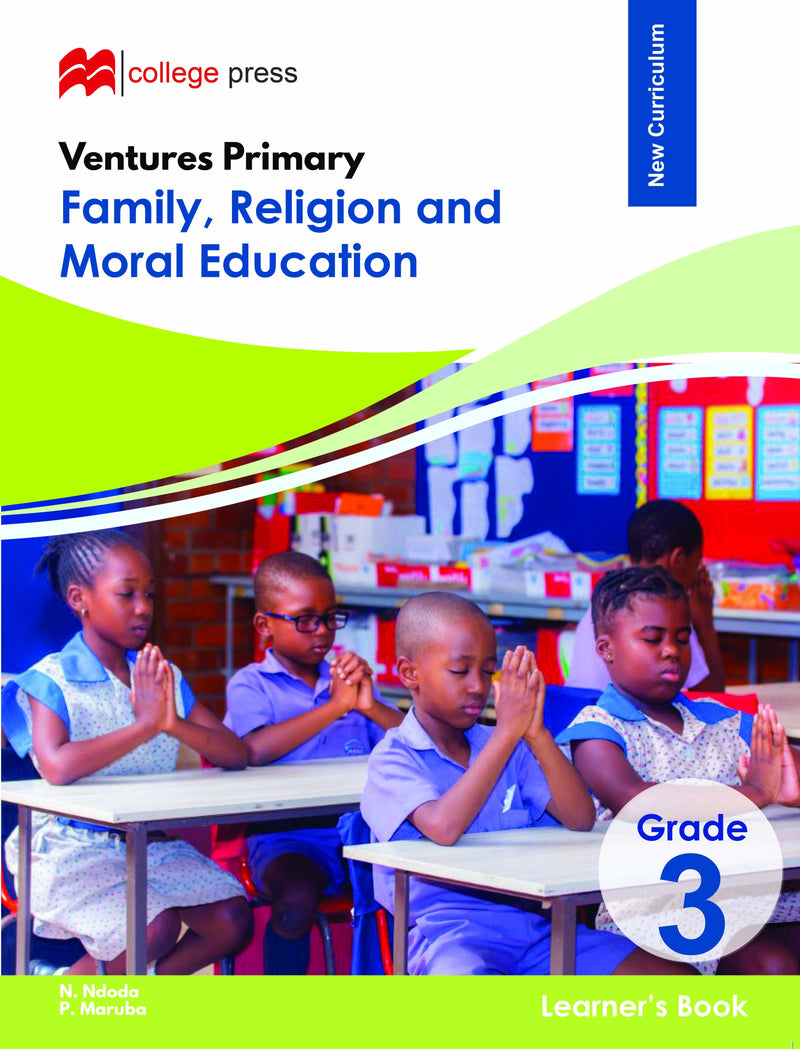 Ventures Primary Family, Religion and Moral Education Grade 3