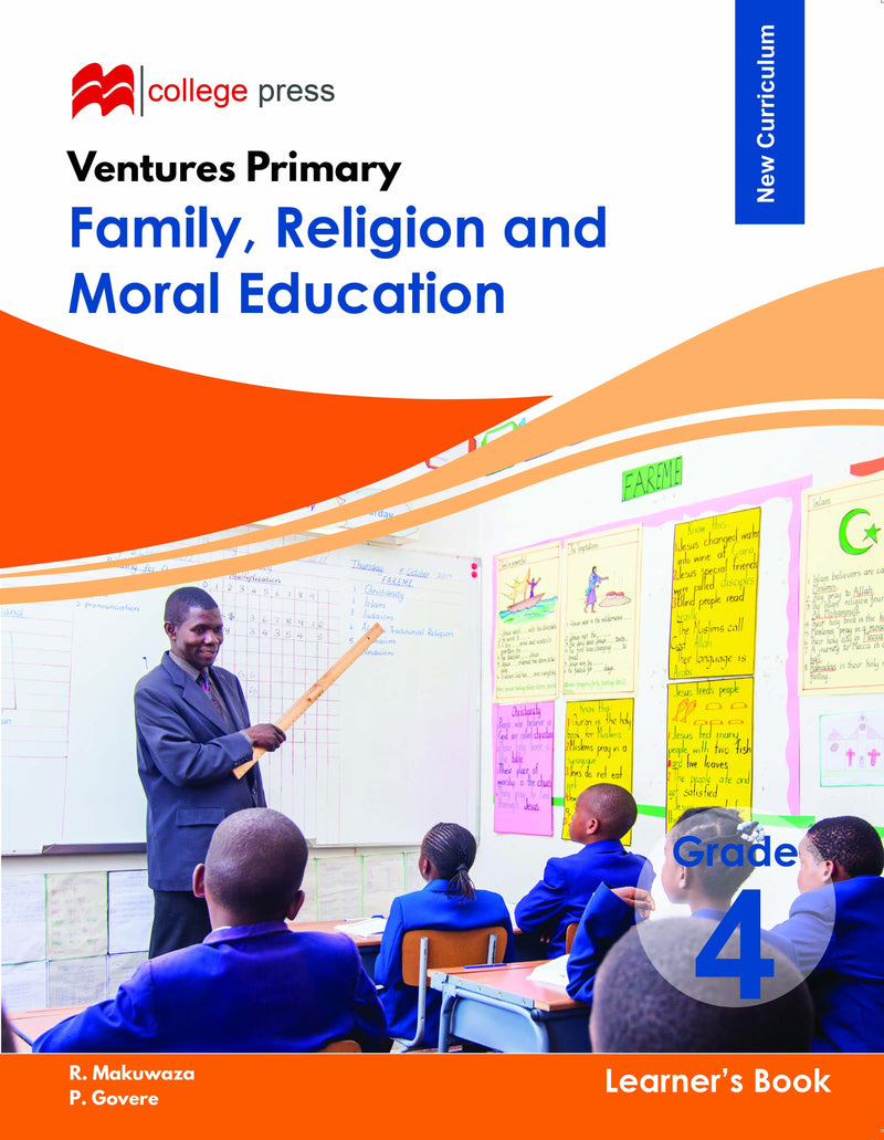 Ventures Primary Family, Religious and Moral Education Learner's Grade 4  Book