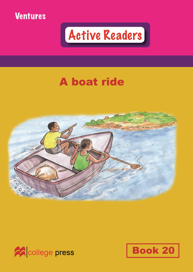 Ventures active readers (Controlled English Reading Scheme) A boat ride Book 20