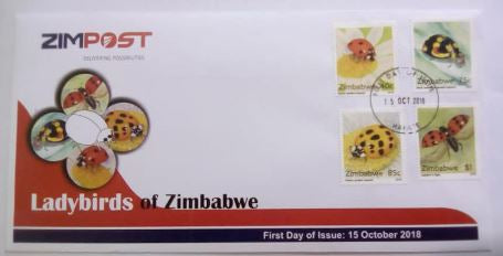 Lady Birds of Zimbabwe First Day Cover