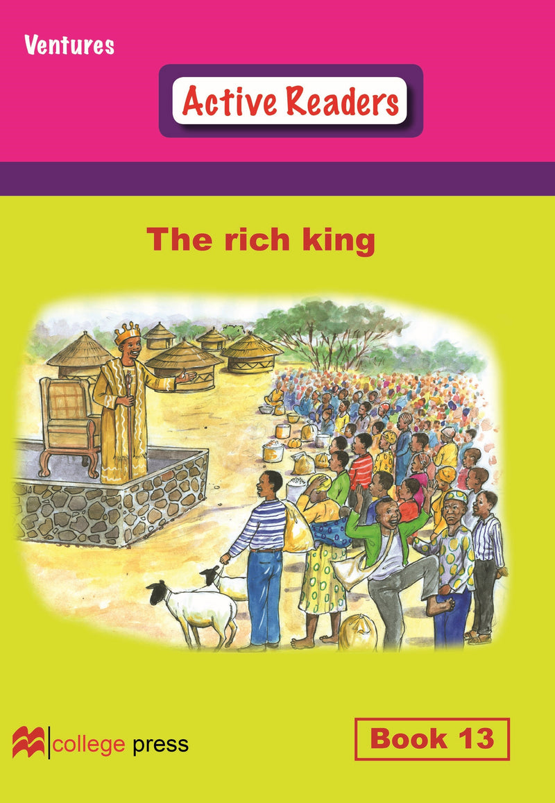 Ventures active readers (Controlled English Reading Scheme) The rich King  Book 13