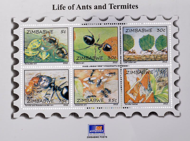 Life of ants mini sheets
