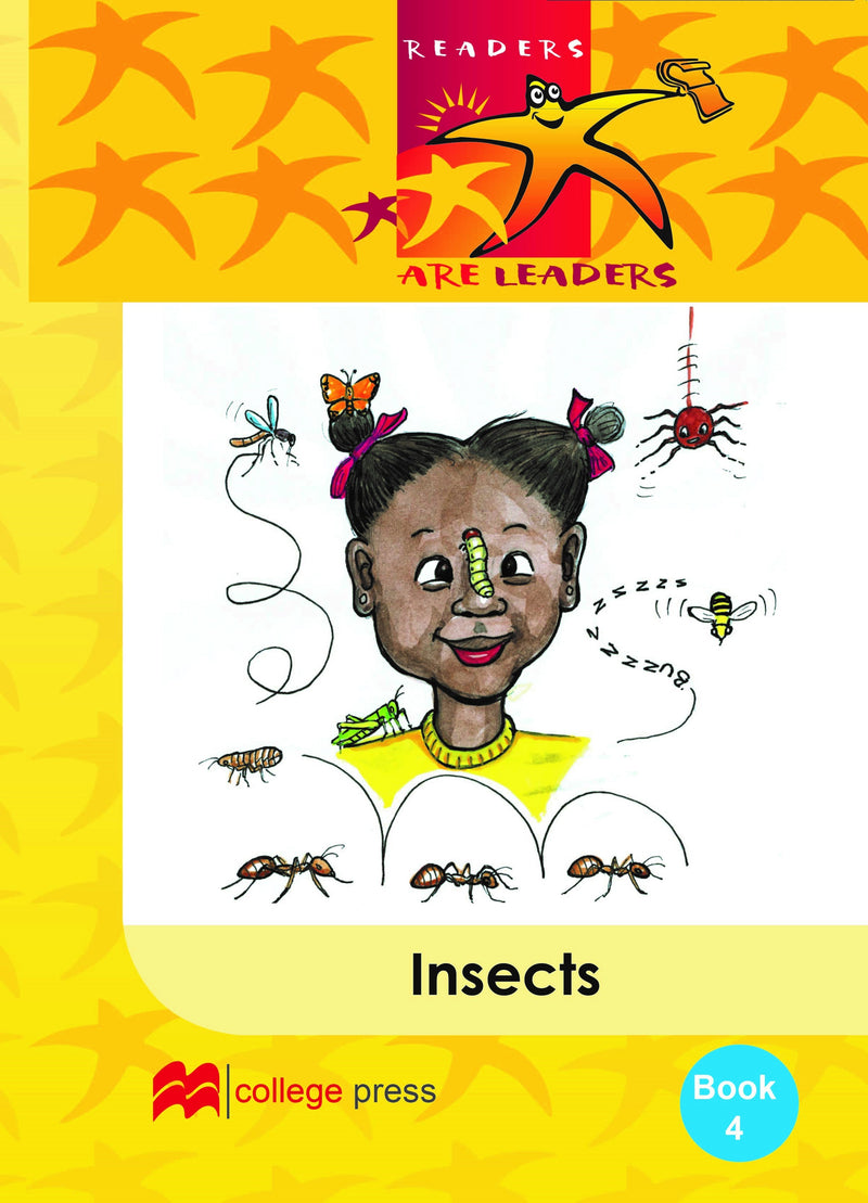 Readers are leaders Book 4 - Insects