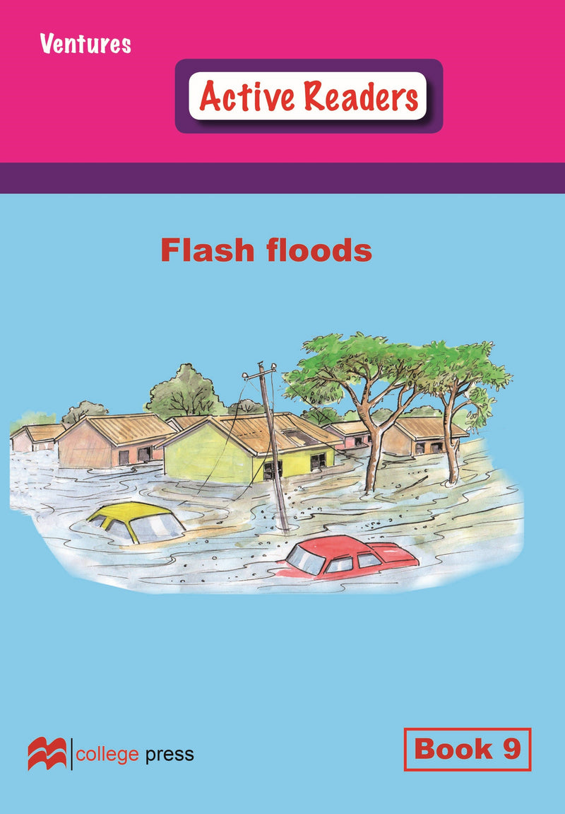 Ventures active readers (Controlled English Reading Scheme) Flash floods  Book 9