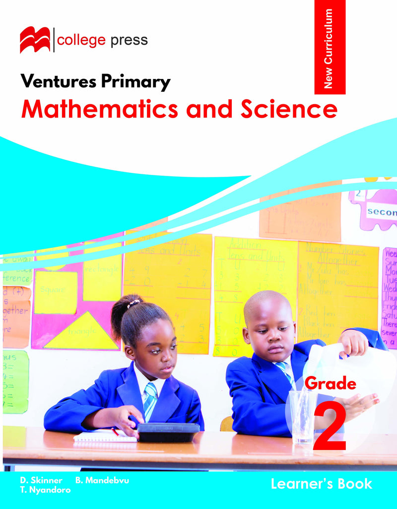 Ventures Primary Mathematics and Science Learner's Grade 2 Book