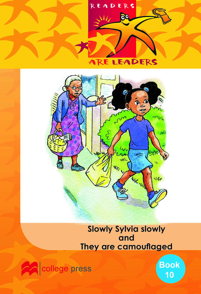 Readers are leaders Book 10- Slowly Sylvia Slowly and They are camouflaged