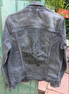 The Shrine x Dogtown Levi's Denim Jacket (Grey)