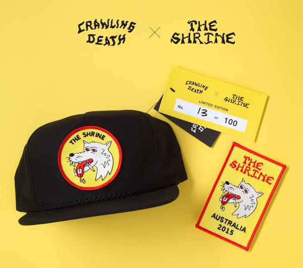 The Shrine x Crawling Death Hat