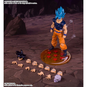 (U.S.A. Stock) DF custom DBZ blue battle damaged Goko