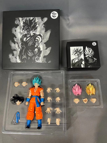 (USA stock) Kong Studio  Whis Goko Combo of figure Kong008 and whis hair kit kong014