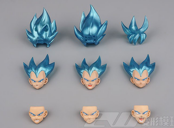 (USA stock) DF SS Blue Guko/Begeta heads kit