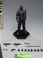 (Preorder) Twtoys 1/12 special force Black warrior action figure