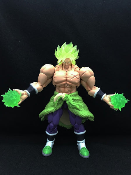 (Stock) Kong studio csutom Broly Hair and power ball kit GLID Kong004
