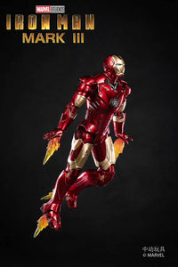[Stock] ZD Toys IronMan MK3 MarkIII Mark 3 1/12 action figure
