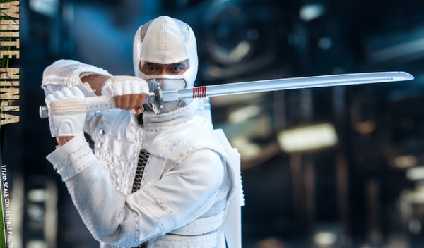 (Preorder) Twtoys 1/12 special force white ninja action figure