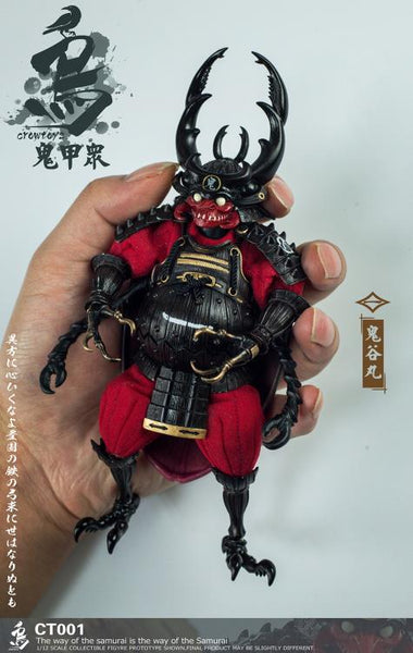 (Preorder) Crowtoys Samurai Beetle 1/12 action figures