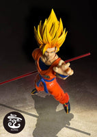 (U.S.A. Stock)Kong studio custom SSJ2 Goko yellow heads kits Kong006