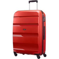 CLEARANCE American Tourister Bon-Air 55cm Cabin Travel Suitcase | Magma Red