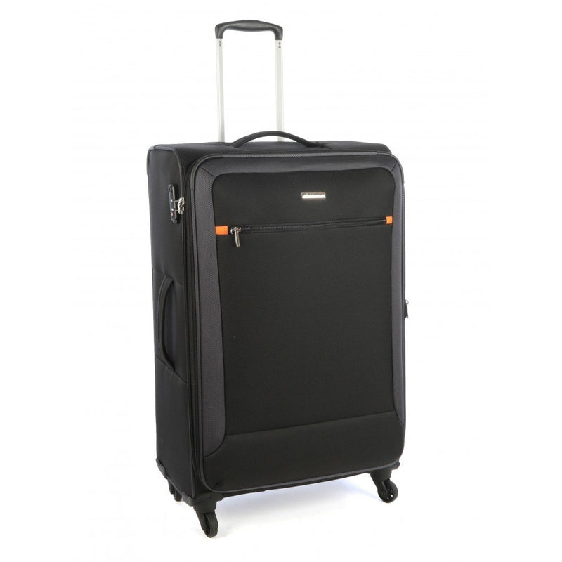 Cellini Carnival 760mm 4 Wheel Trolley Case | Black
