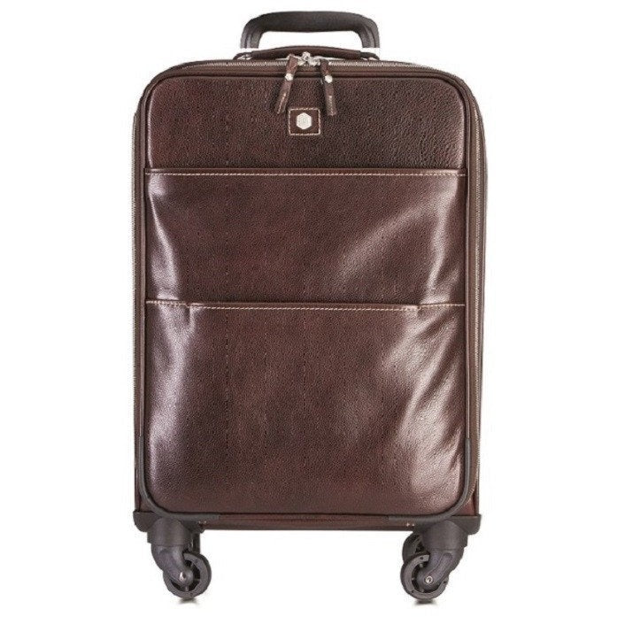 Jekyll and Hide Berlin 4-wheeled carry on trolley | Brown