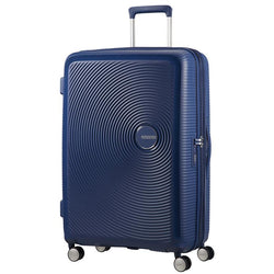 American Tourister Soundbox Spinner Expandable 77cm | Midnight Navy