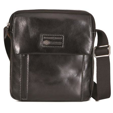 Jekyll & Hide Oxford Tablet Crossbody Organiser Black
